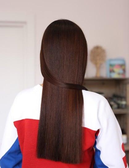 шатенка окрашивание волос