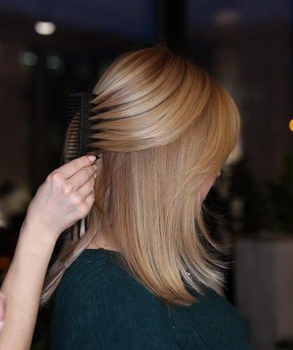 окрашивание волос качество